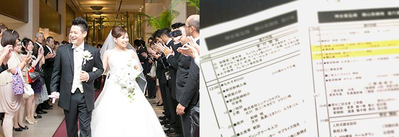 2.お二人らしい結婚式・披露宴をプランニング