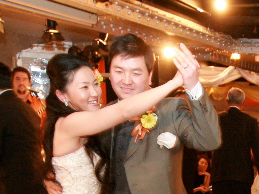 結婚式 新郎新婦 ダンス