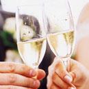 乾杯 グラス シャンパン