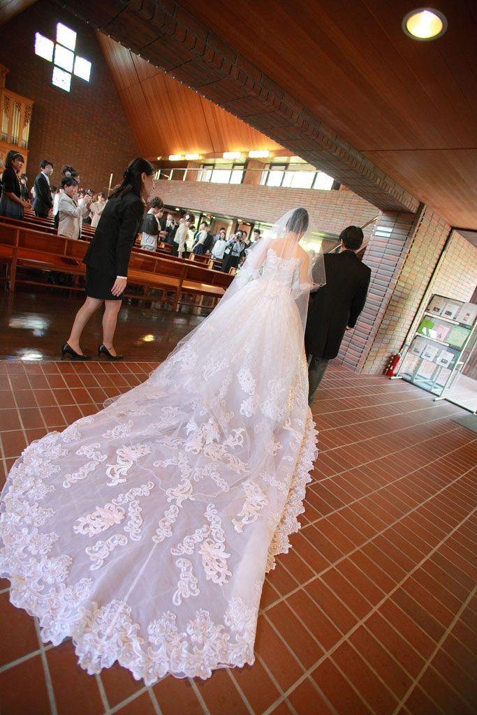 結婚式 披露宴 ウェディングドレス オリジナルウェディング 教会
