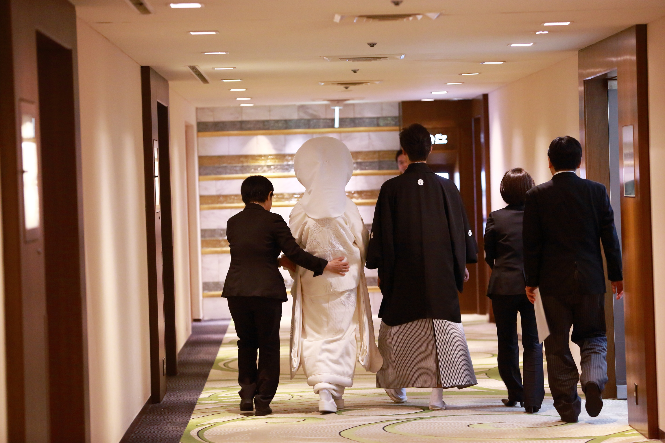 結婚式 和装 白無垢 紋付 和婚 ホテル挙式