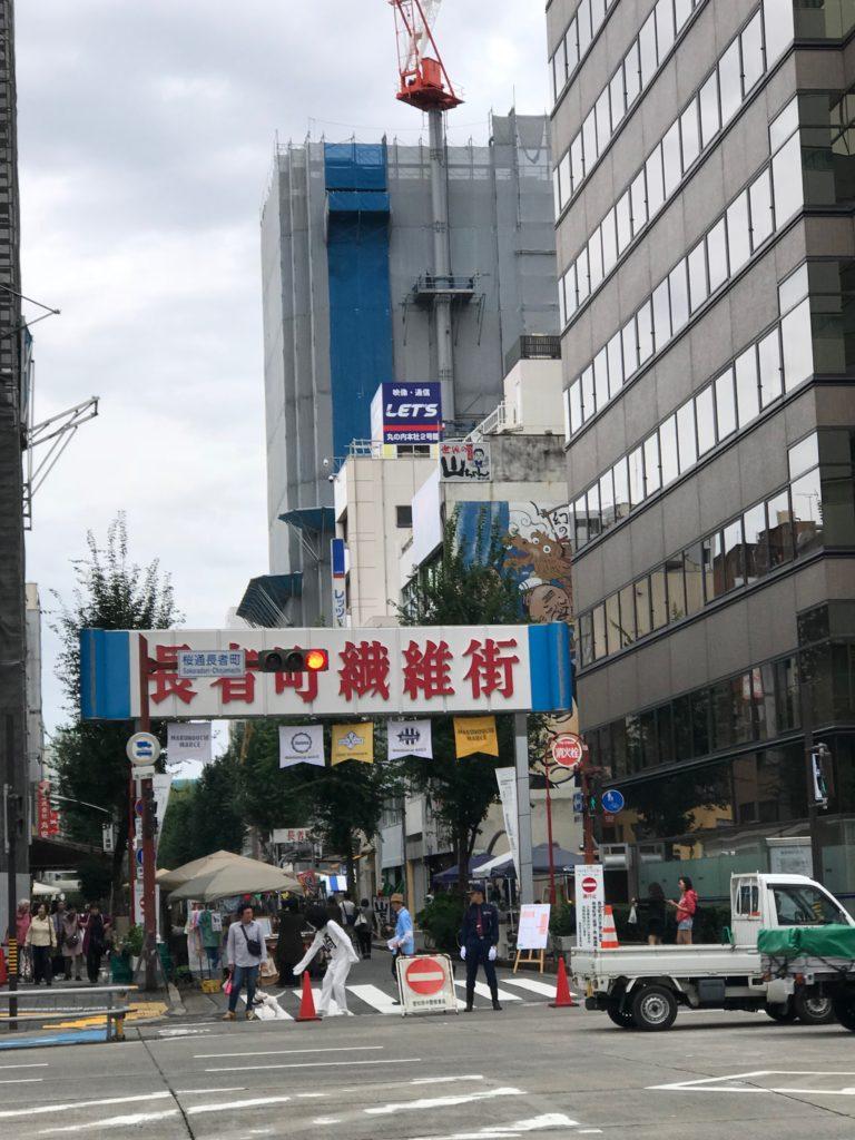 長者町ゑびす祭り ドレス試着体験 名古屋観光専門学校ブライダルビジネス科