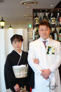 結婚式 披露宴 オリジナルウェディング 新郎 新郎の母