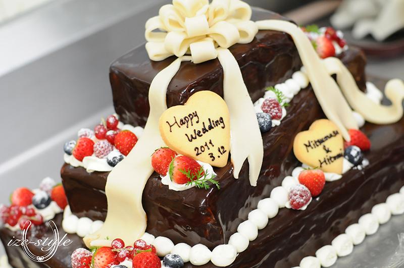 結婚式 人前式 おめでた婚 ウェディングドレス ウェディングケーキ オリジナルウェディング ウェディングケーキ