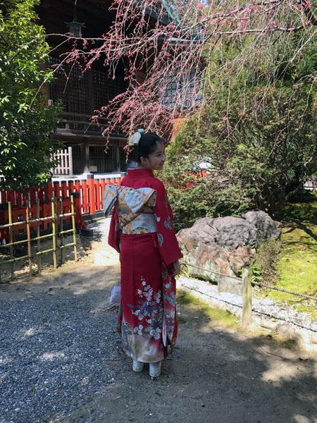 晴れの日 晴れ着 振袖 十三詣 十三参り 結婚式 和婚 和装