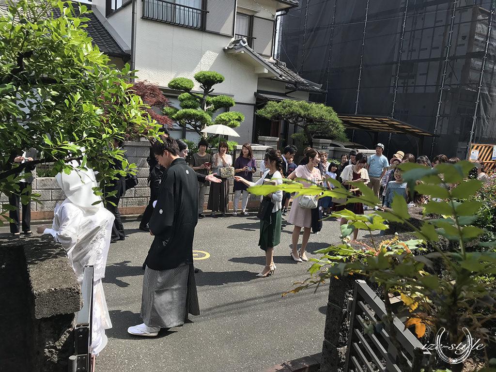 和ごころ結婚式いとむすび 結婚式 家族婚 挙式 自宅支度 自宅結婚式 花遊庭 和婚 白無垢 和装