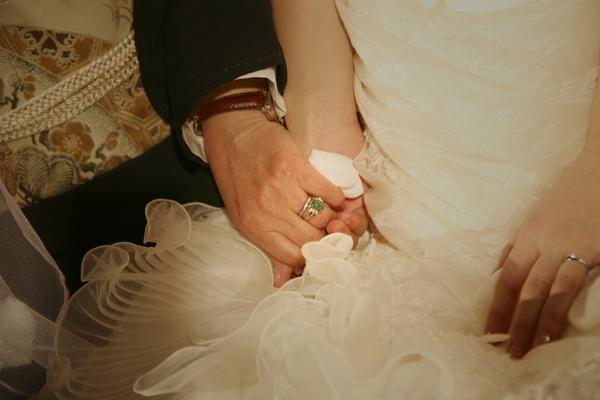 結婚式 和ごころ結婚式いとむすび 披露宴 花嫁 愛おしい